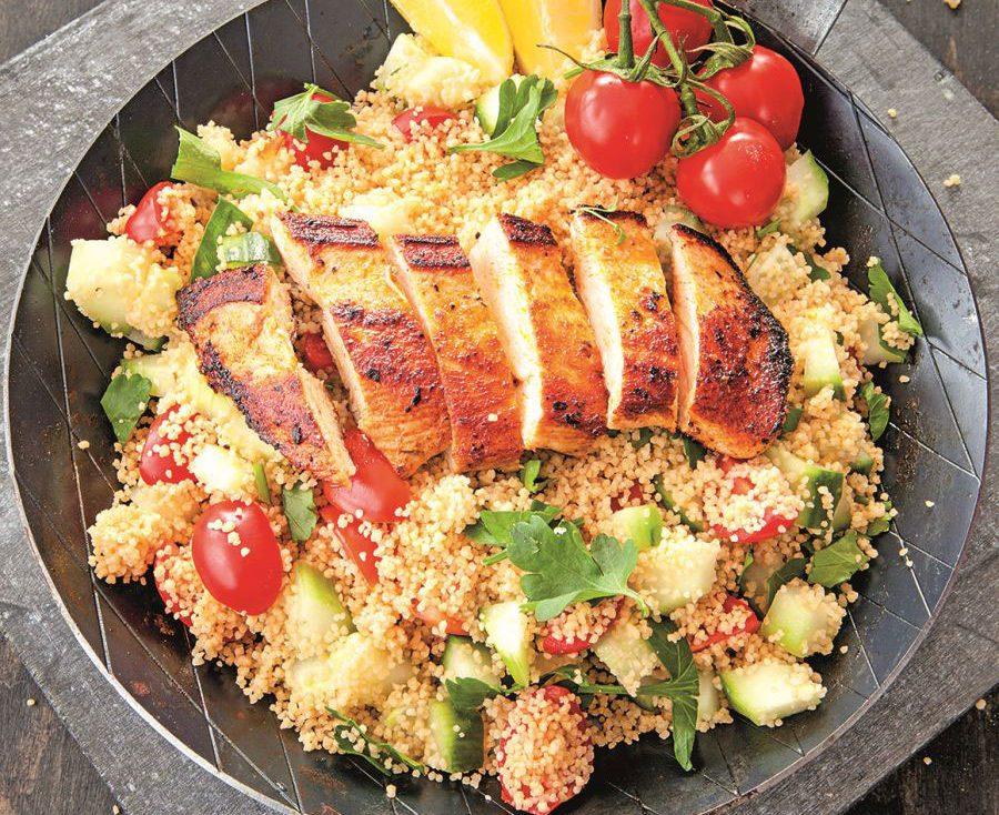 UKUSAN I ZDRAV RUČAK: Piletina sa prosom i semenkama