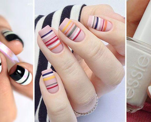 MANIKIR INSPIRACIJA: Linije na noktima