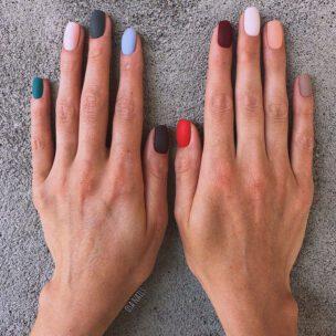 IDEJA ZA MANIKIR: nalakirajte svaki nokat drugačije