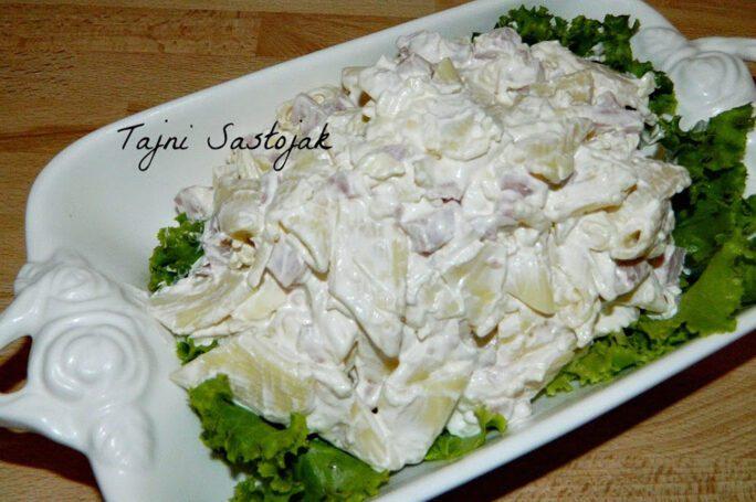 Recept za salatu sa testeninom