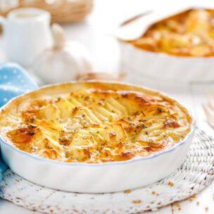 Recept za gratin sa rendanim krompirom