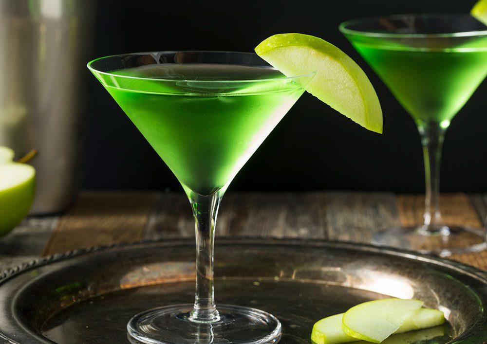 Recept za apple martini koktel