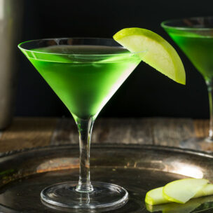 Recept za apple martini koktel