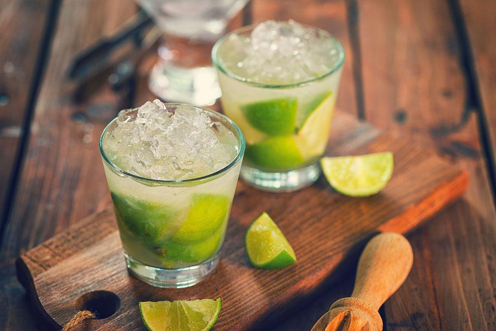 Recept za koktel caipirinha