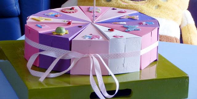Napravite sami tortu od kartona