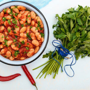 recept za crvenu čili salatu od pasulja