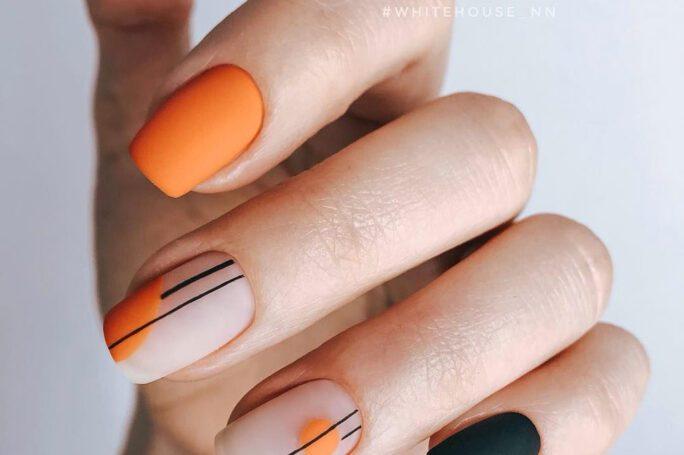MANIKIR INSPIRACIJA: Geometrijski nokti