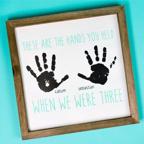 Porodične uspomene od oriska ruke