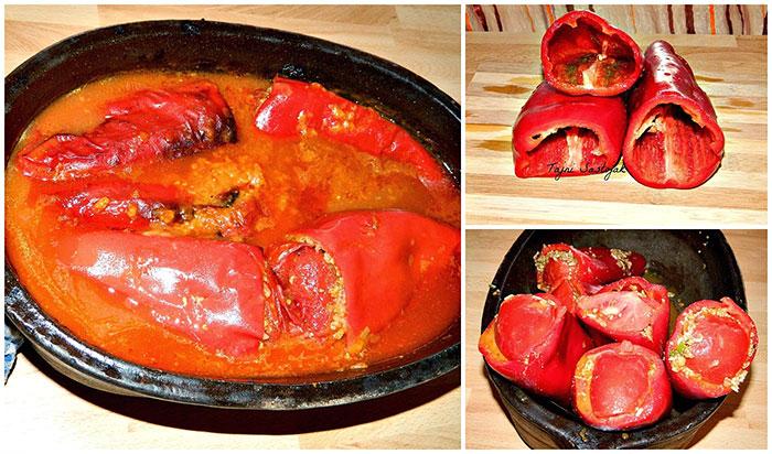 Recept za punjene paprike