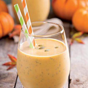 Recept za smoothie sa bundevom, đumbirom i chia semenkama