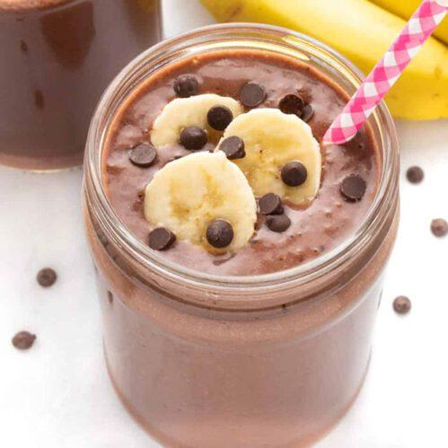 Recept za čoko - banana smoothie