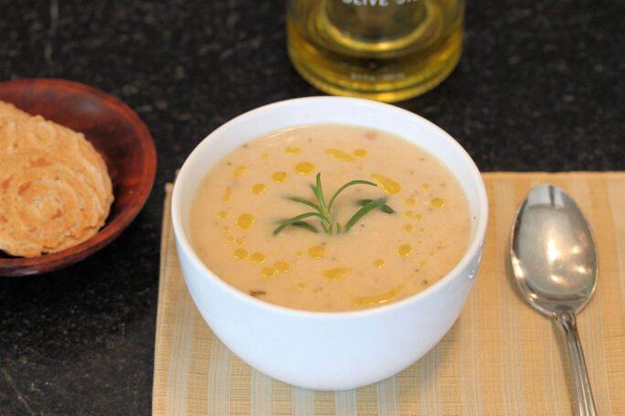 Posna krem supa od pasulja