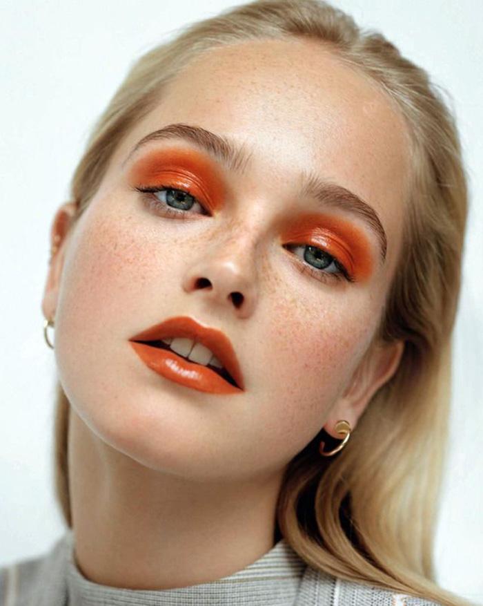 MONOHROMATSKA ŠMINKA: Ceo makeup look u jednoj nijansi